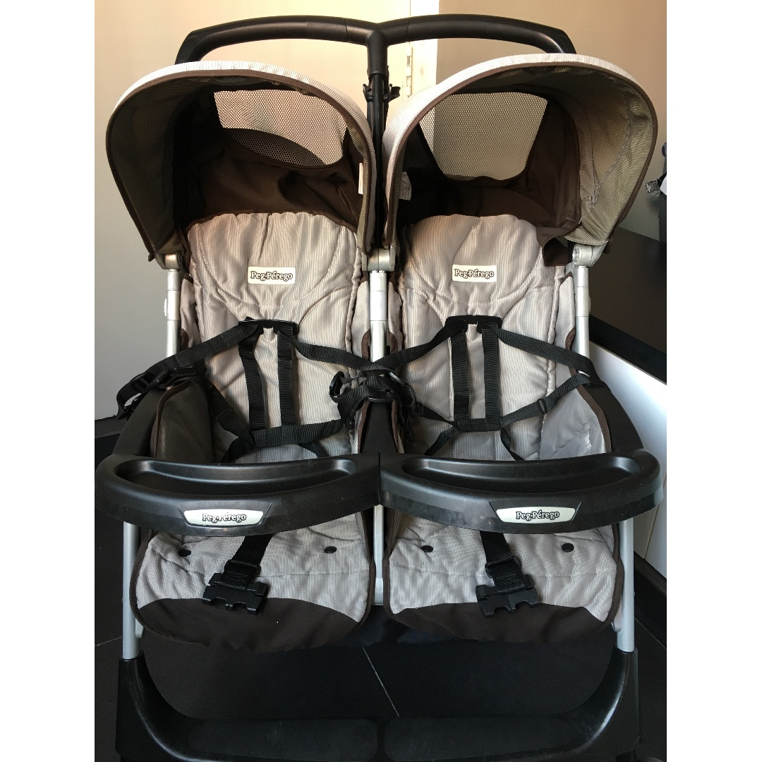 Peg Perego Stroller For Twins Peg Perego Double Twin Stroller