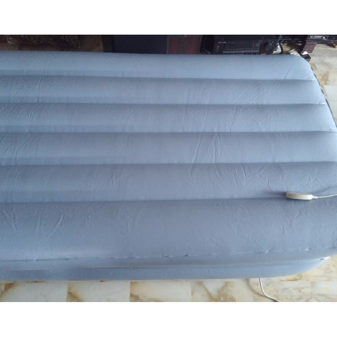 Double Inflatable Mattress Aerobed Raised Double Uk Bruin Blog