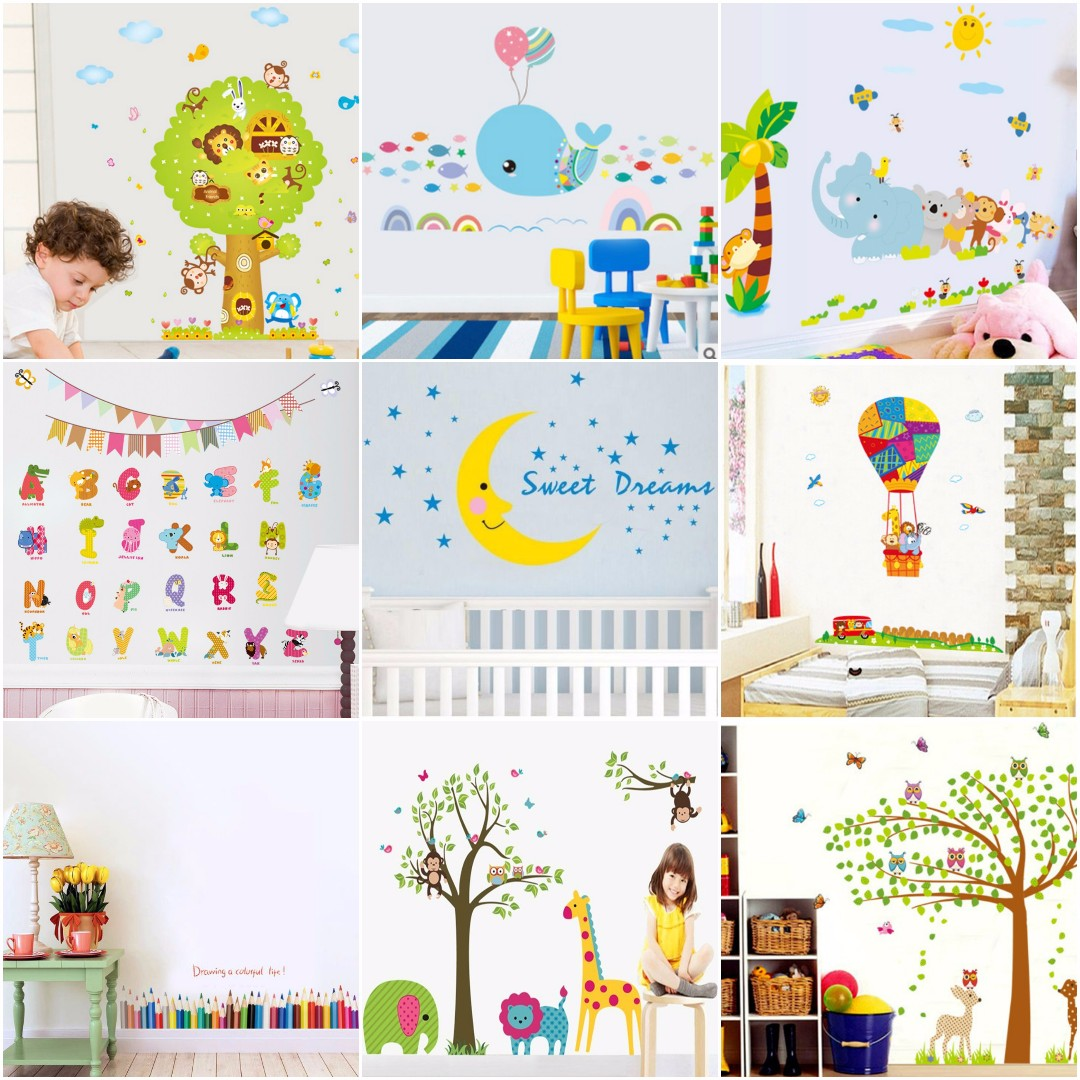 Décoration Murale Adhésive For Kids Self Adhesive Diy Wall Sticker Wall Decal Wall Vinyl Wall Mural Home Decor
