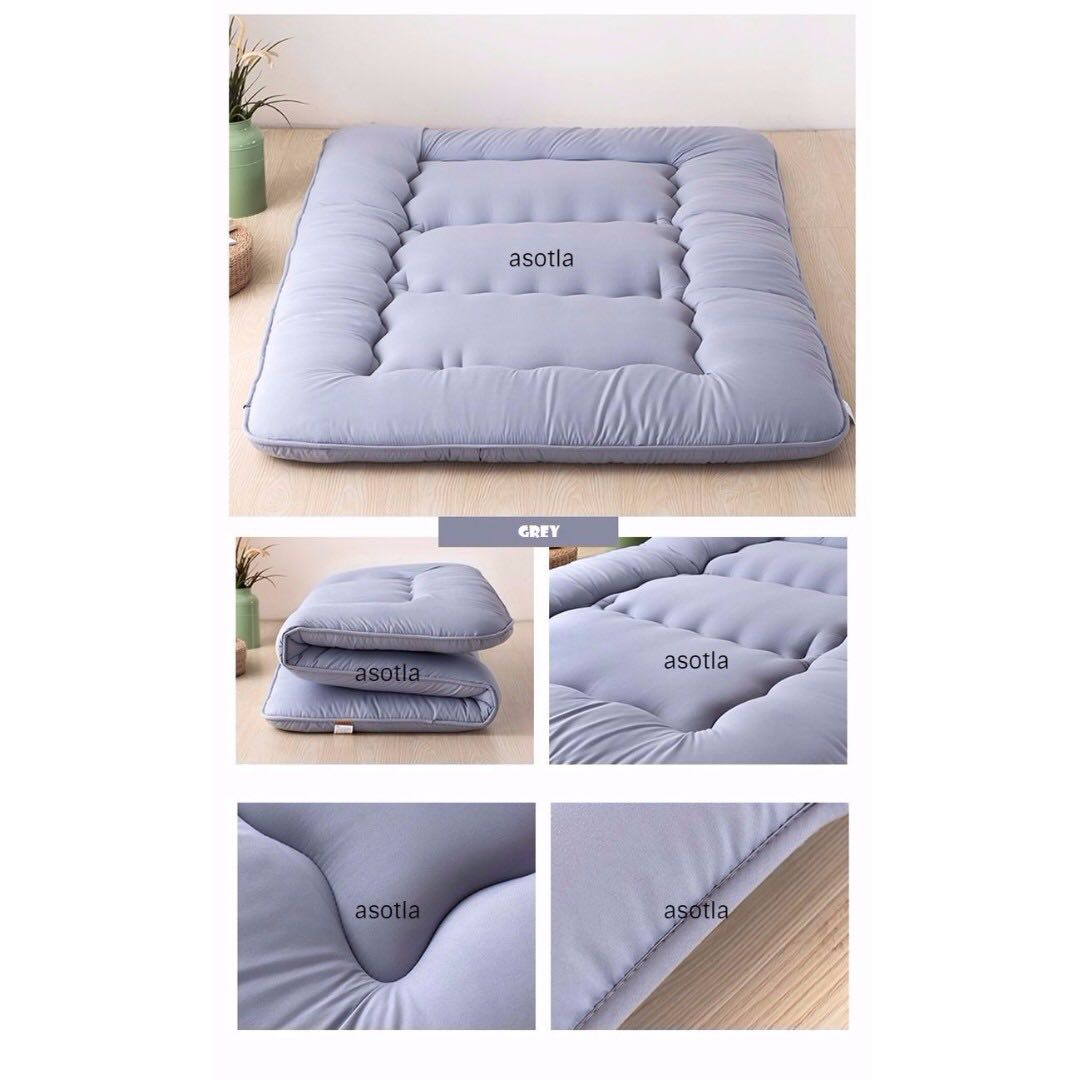 Foldable Mattresses Japanese Tatami Foldable Mattress Futon Singe Super Single Queen
