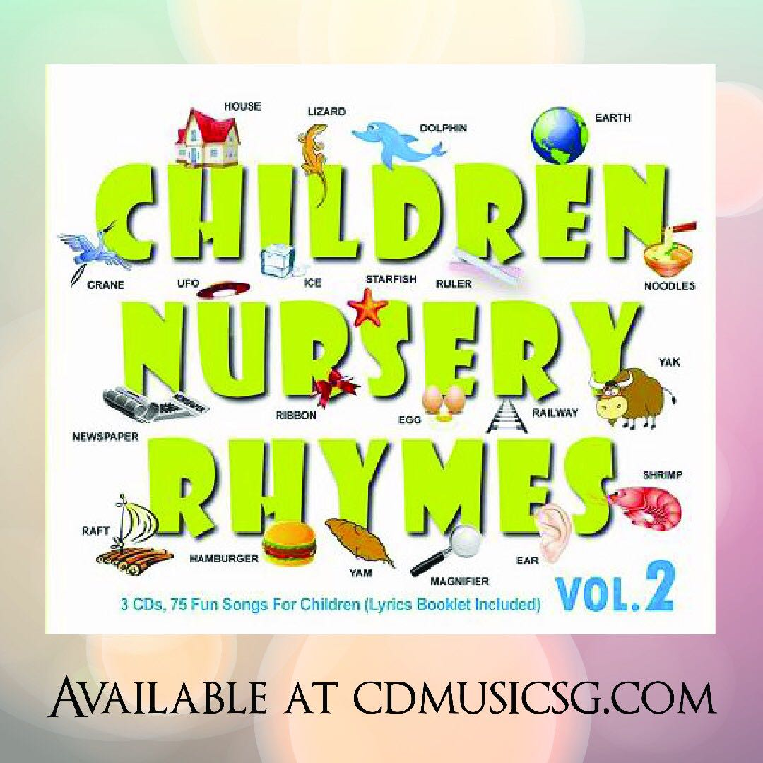Baby Children Nursery Rhyme Song Babies Cd Children Nursery Rhymes Vol 2 Babies And Kids