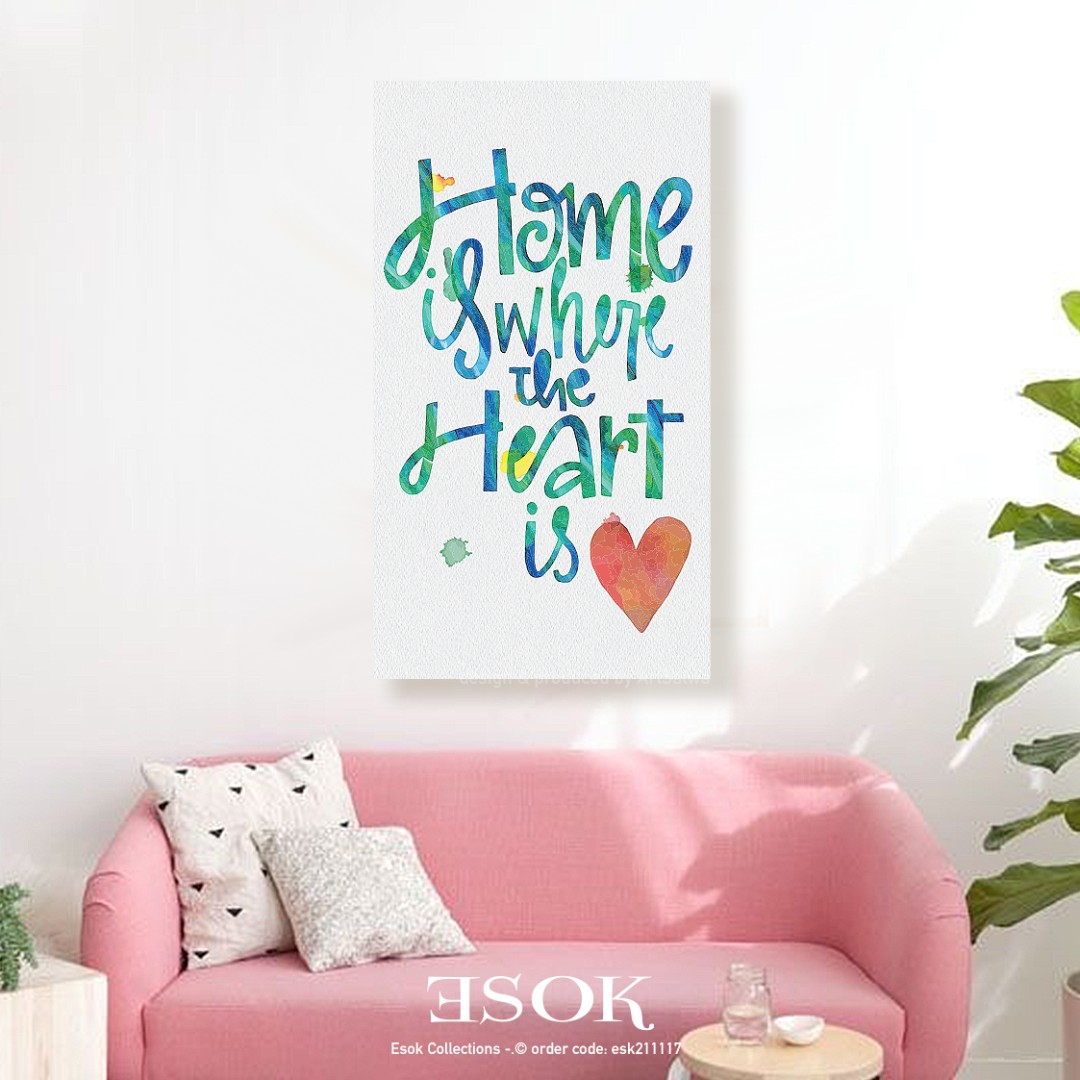 Home Quotes Stretched Canvas Furniture Home Decor On Carousell