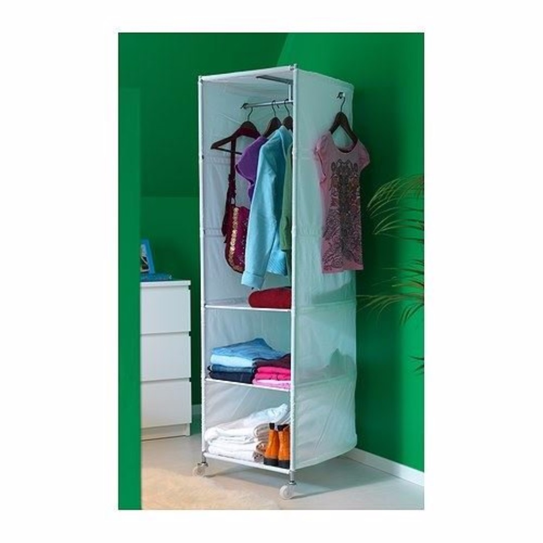 Ikea Wardrobe Tidy Ikea Ikea Ps Wardrobe Tidy With Shelves White 52x164 Cm