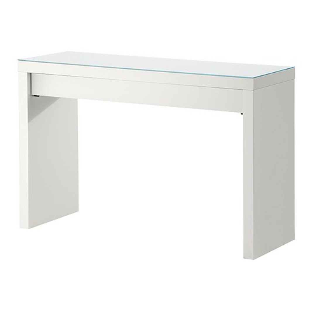 Ikea Dressing Table Used Ikea Malm Dressing Table White And Nissedal Mirror White