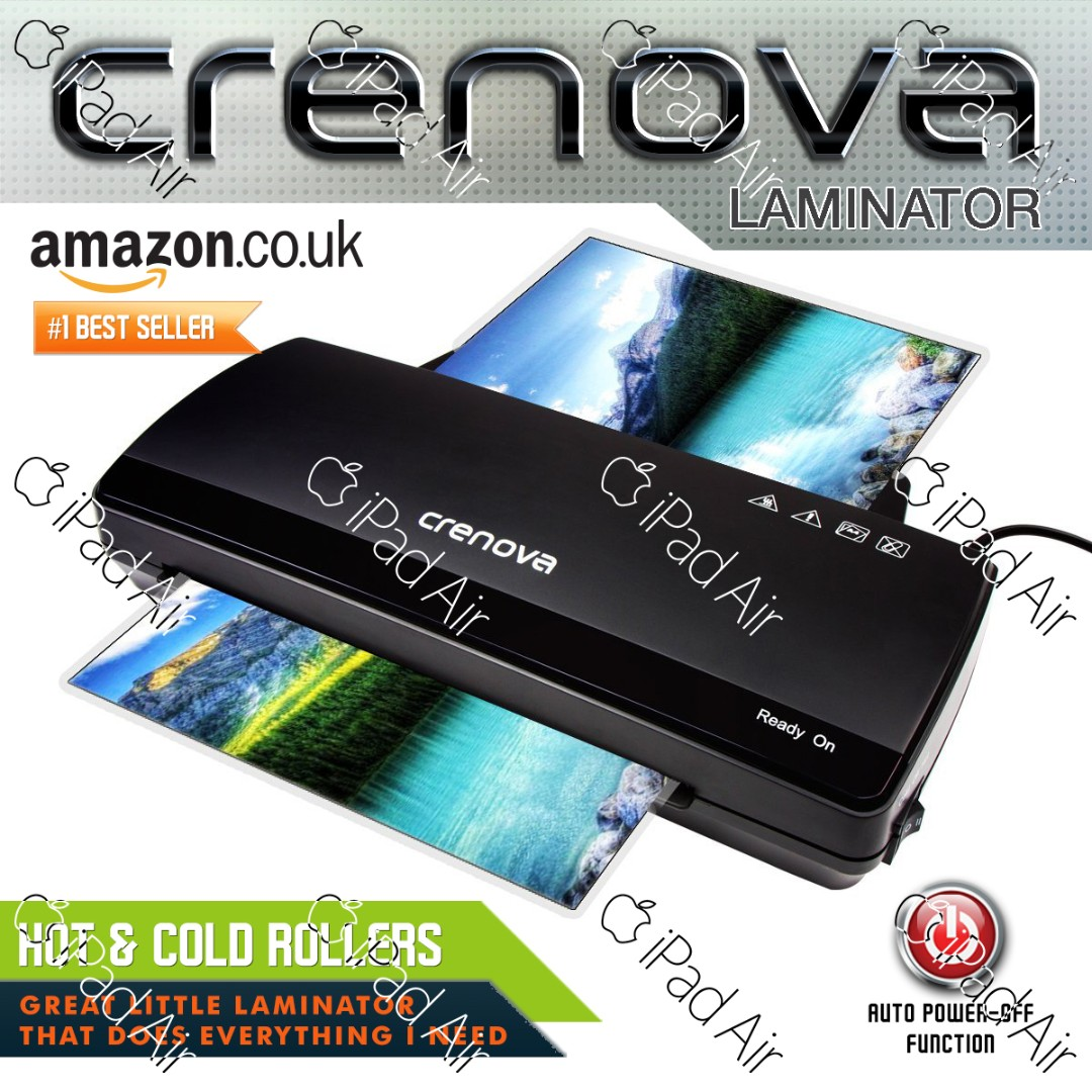 Laminat Roller Crenova Lt01 Laminating Machine 2 Rollers With 250mm Min