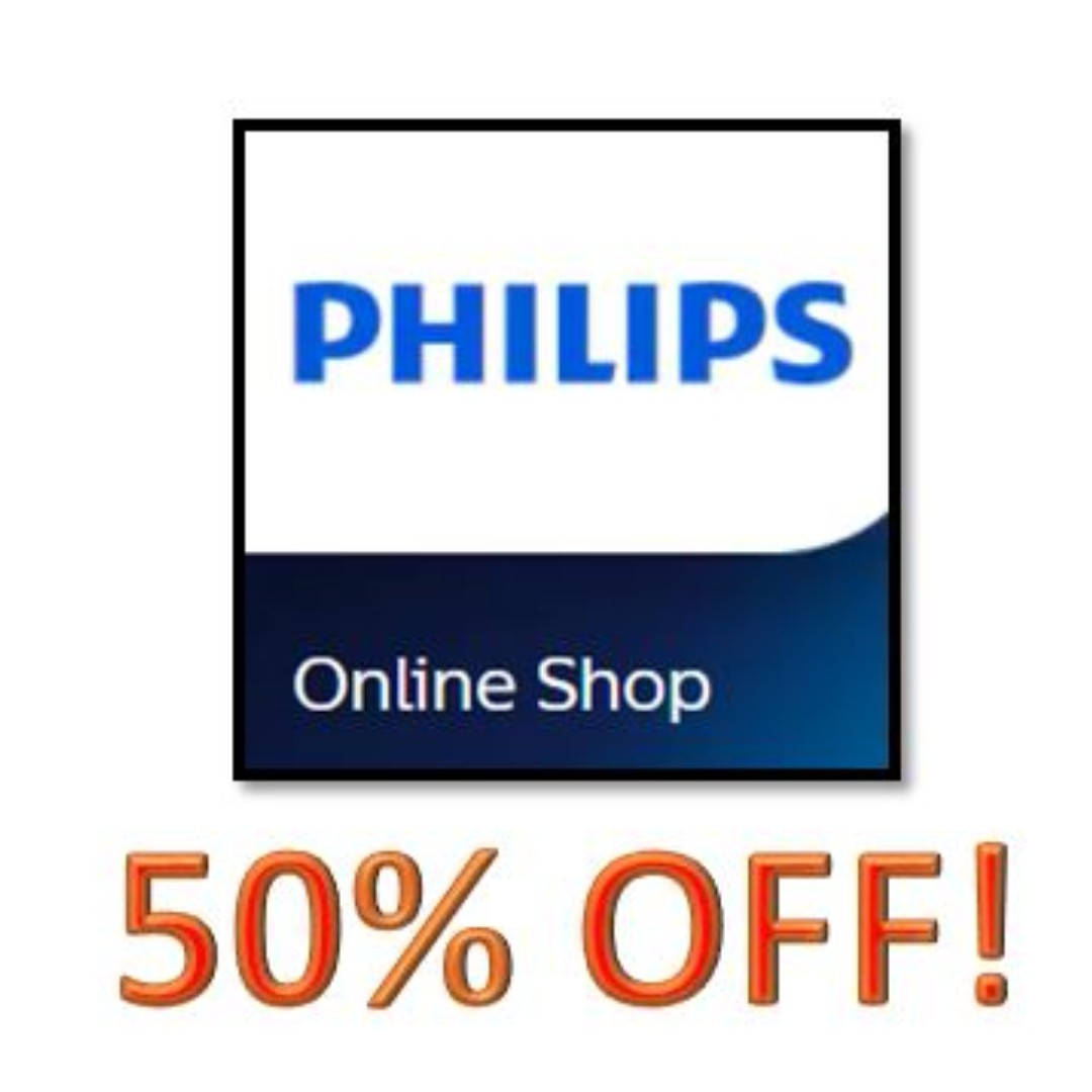Philipps Online Shop Philips 50 Off E Voucher Last Week