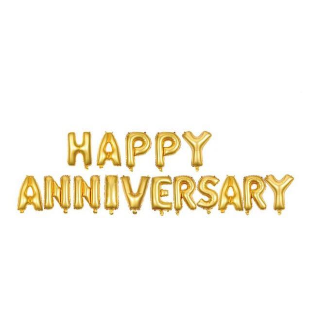 Happy Anniversary Banner, Design  Craft, Others on Carousell