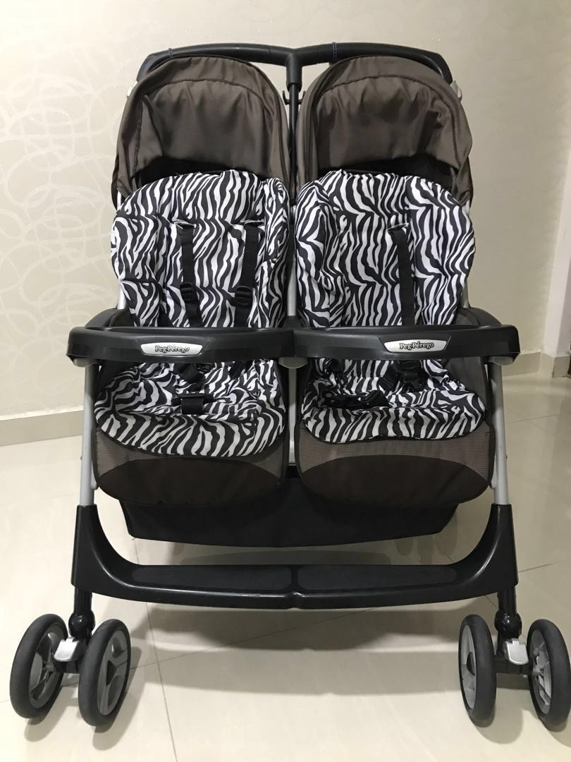 Peg Perego Stroller For Twins Preloved Peg Perego Aria Twin Double Stroller Babies Kids