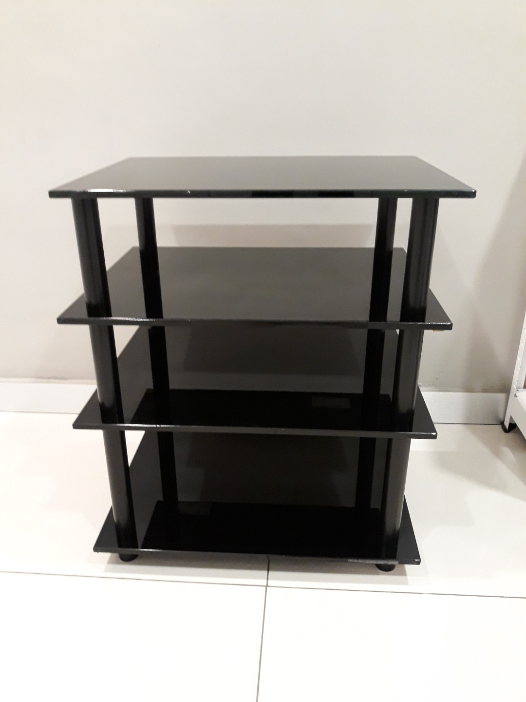 Hifi Rack Design Design Hifi Rack Cheap Black Shelved Tier Hifi Rack With Silver