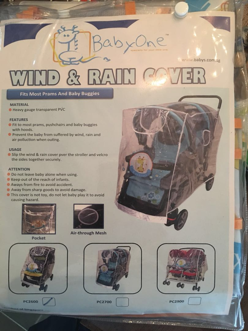 Babyone Baby Jogger Babyone Wind And Rain Cover