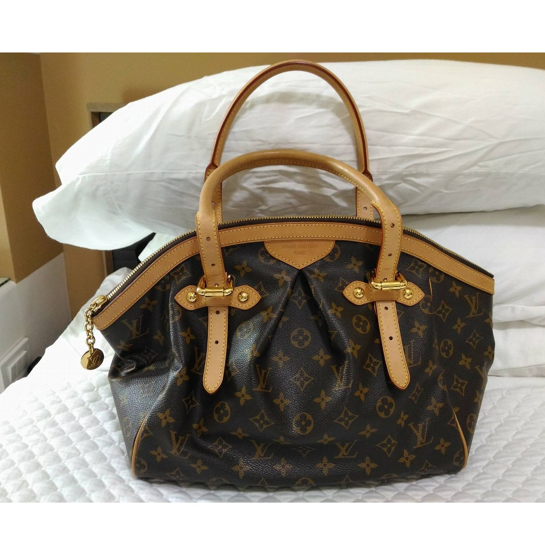 Tivoli Gm Louis Vuitton Monogram Canvas Tivoli Gm Bag Orig