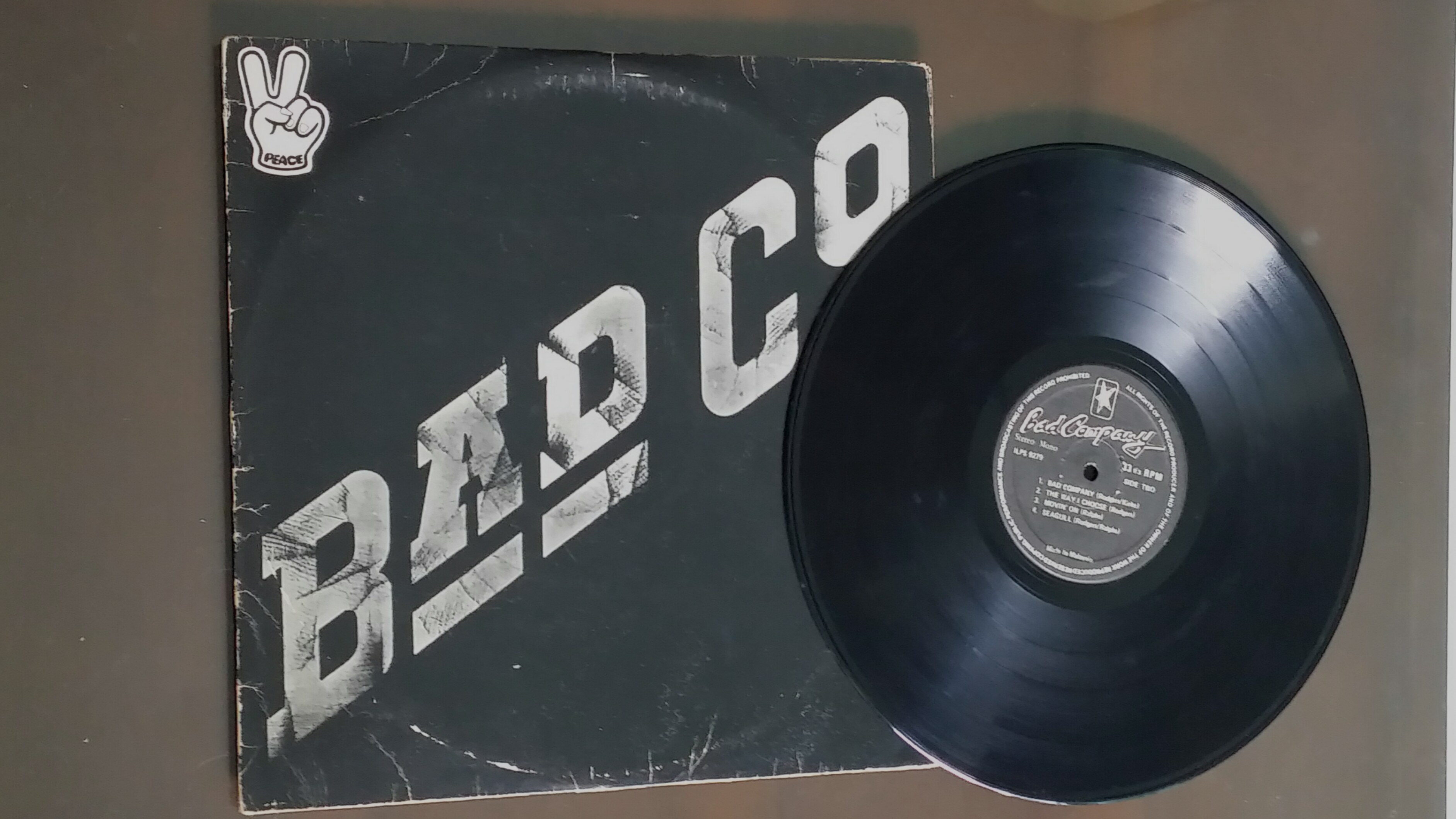 Vinylboden Bad Bad Company Bad Co Vinyl Record