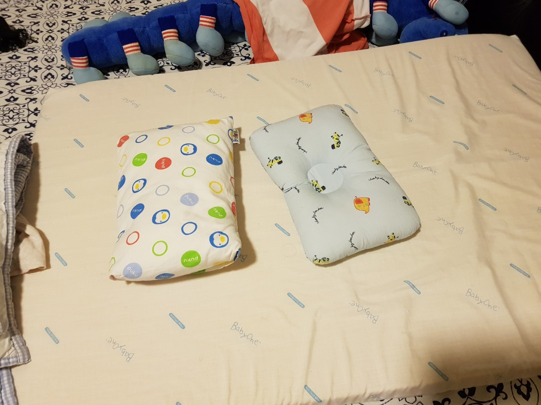 Babyone Bugaboo Cameleon Baby One Mattress With Anti Dust Mites Cover N Two Pillows In Mint Condition