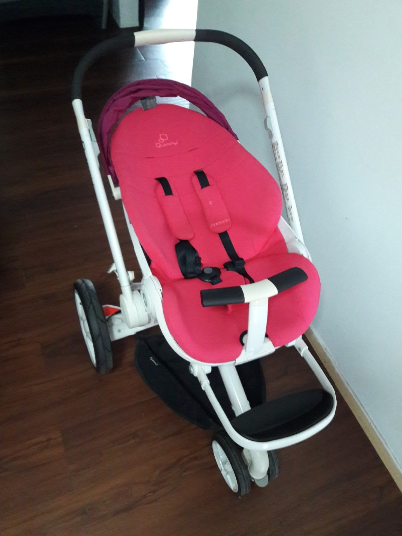 Quinny Moodd Stroller With Bassinet