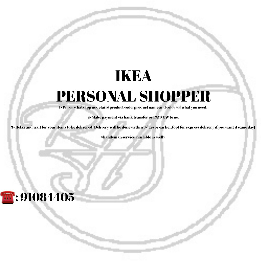 Ikea Bank Code Ikea Personal Shopper Furniture Others On Carousell