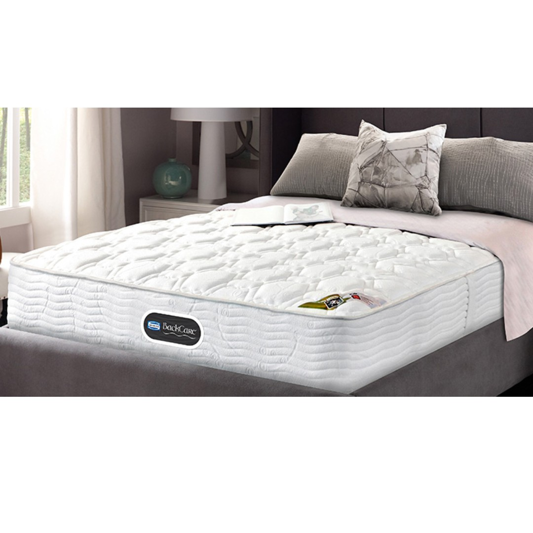 Sealy Posturepedic Backcare Elite Mattress Simmons Backcare 4 Therapeutic Queen Size Mattress
