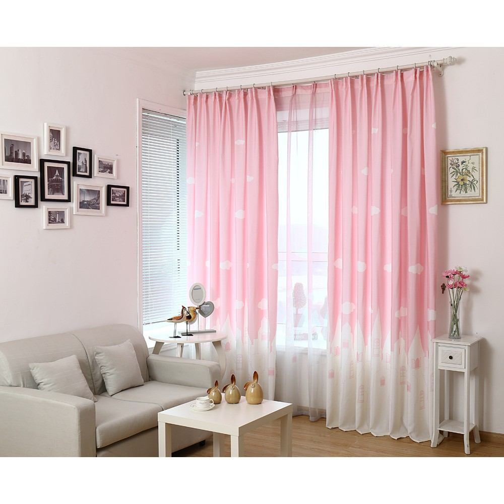 Pink Living Room Curtains Girls Room Curtains Best Interior Furniture