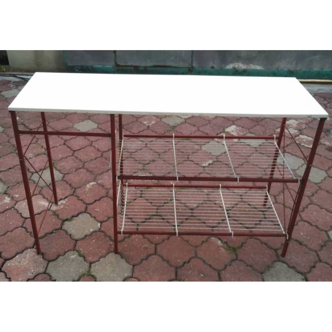 Gambar Meja Dapur Meja Dapur Besi Steel Kitchen Table L42 B
