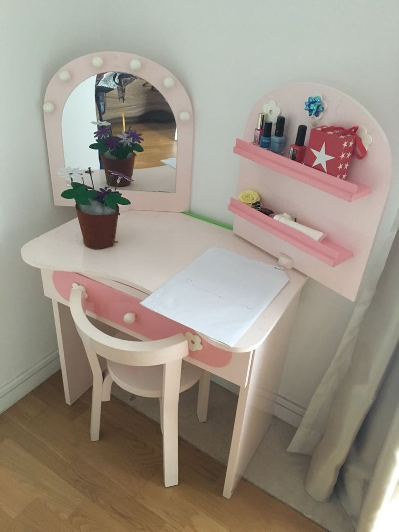 Girls Dressing Table Dressing Table For Girls 4 8 Y O