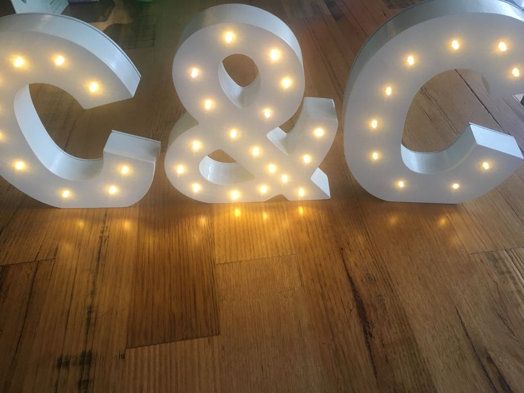 Light Up Letters For Sale Australia Light Up Letters C C White