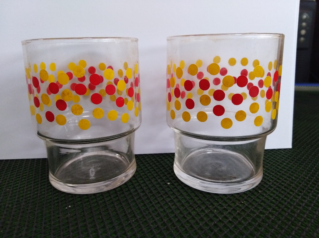 Housewarming Gifts For Young Couples House Warming Gift Set Of 6 Yellow Red Bubbles Cups Nice For Young Couples