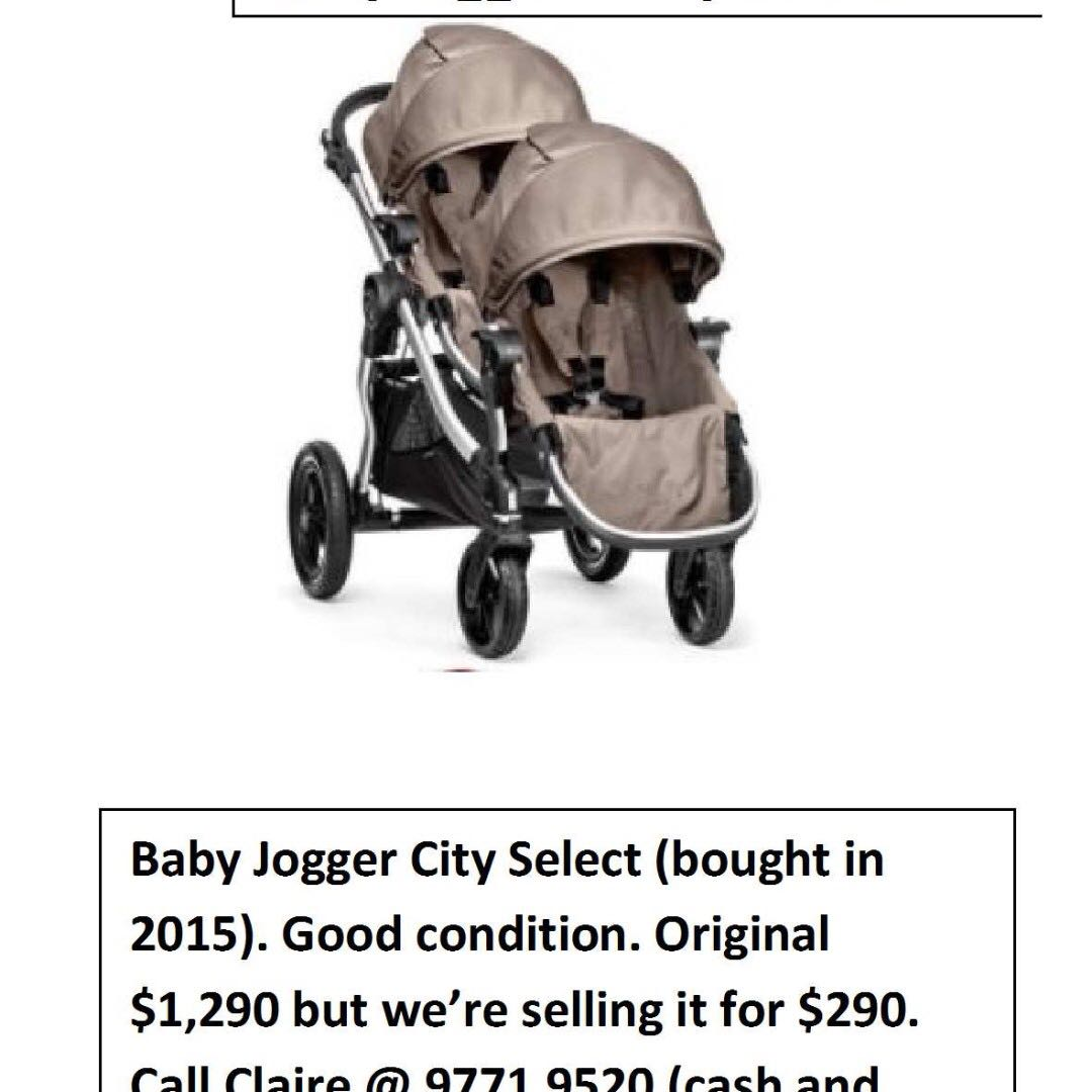 Twin Stroller City Select
