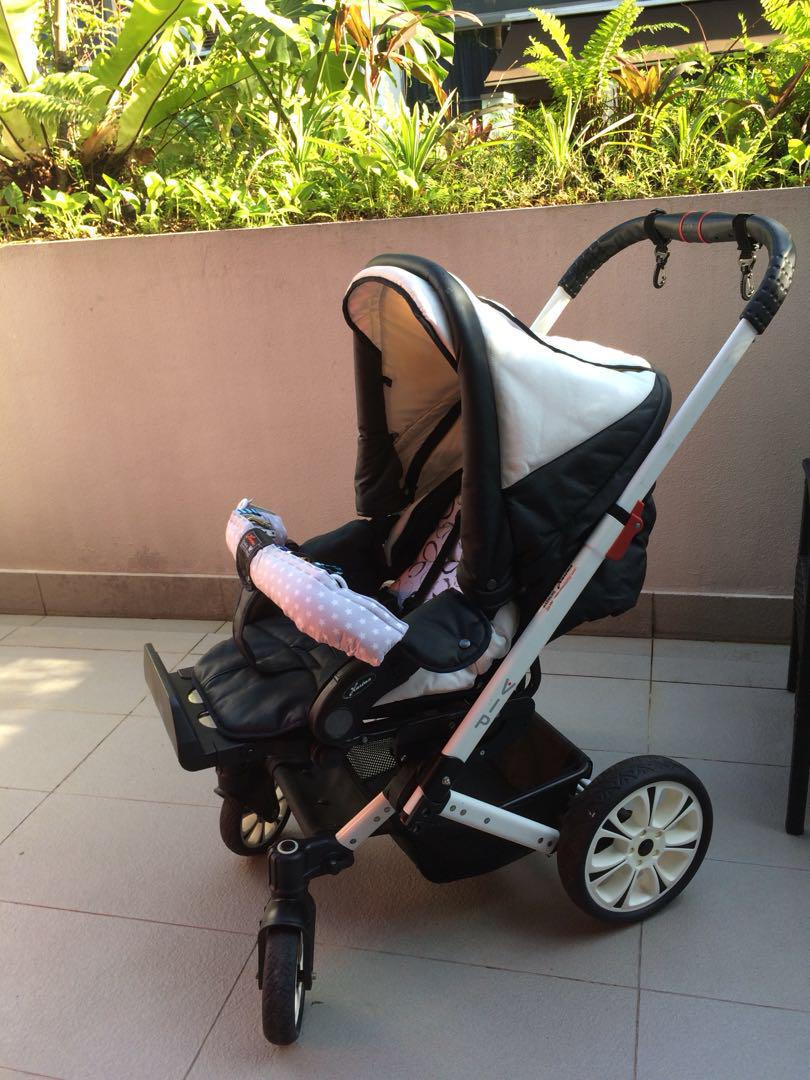 Hartan Baby One Hartan Vip Xl Stroller Pram Made In Germany Babies Kids
