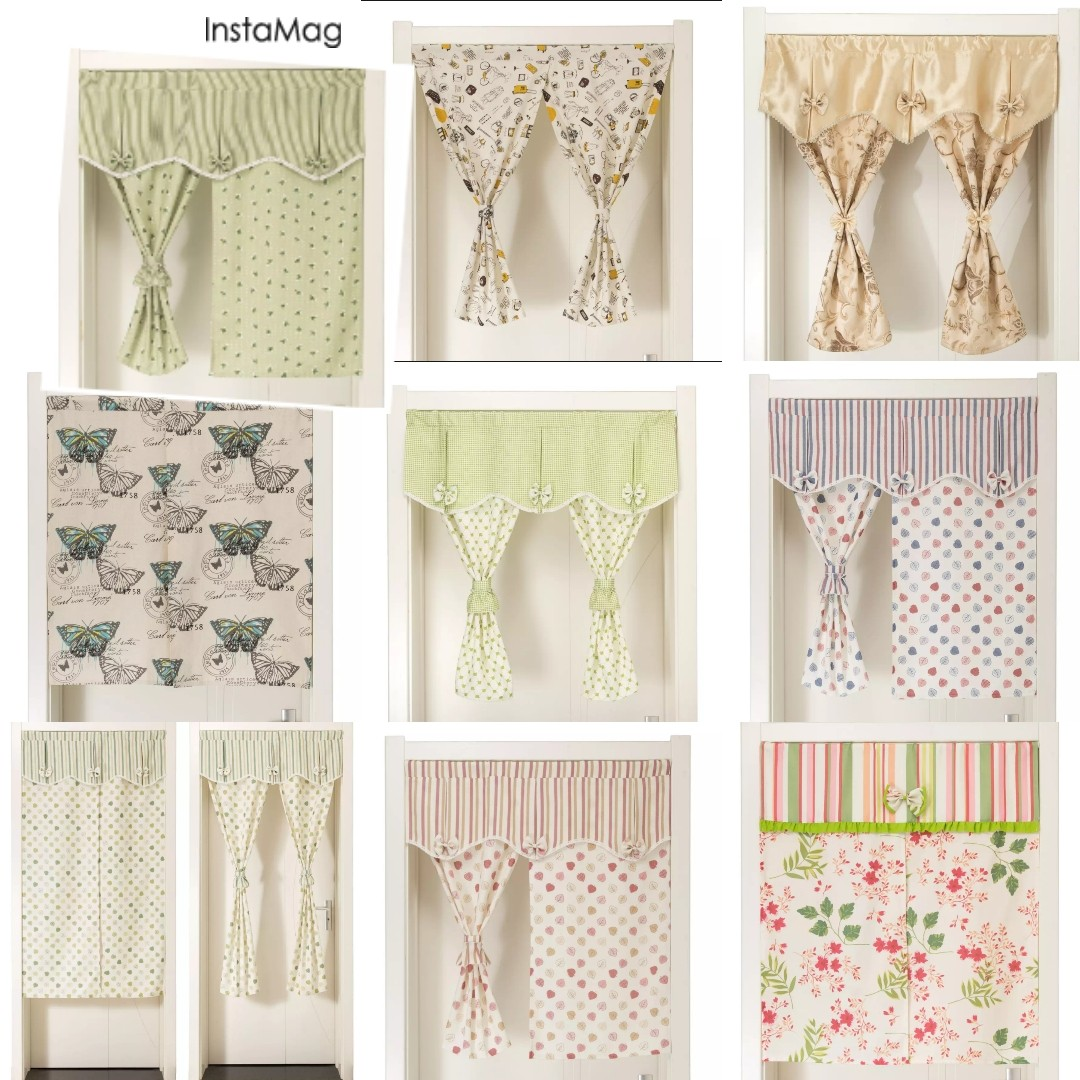 Kitchen Door Curtains Fabric Kitchen Door Curtains
