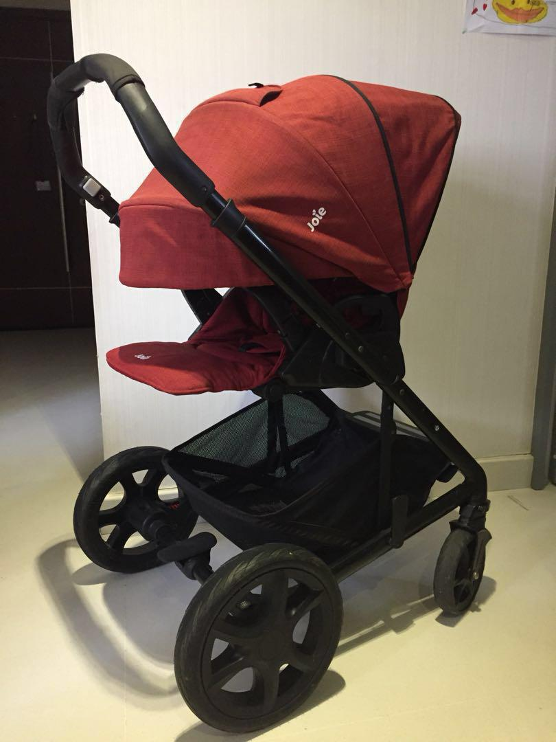 Joie Buggy Chrome Test Joie Chrome Dlx 2017 Pram Stroller From Birth Babies