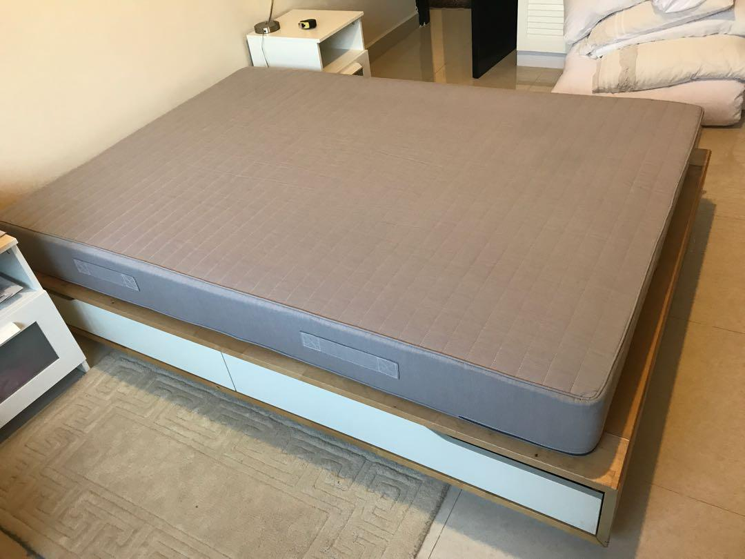 Ikea Mandal Frame Ikea Mandal Double Bed Sultan Mattress Furniture Beds