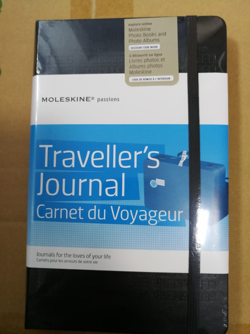 Tjc Interieur Moleskine Passions Travel Journal Carnet Voyage Black Jou