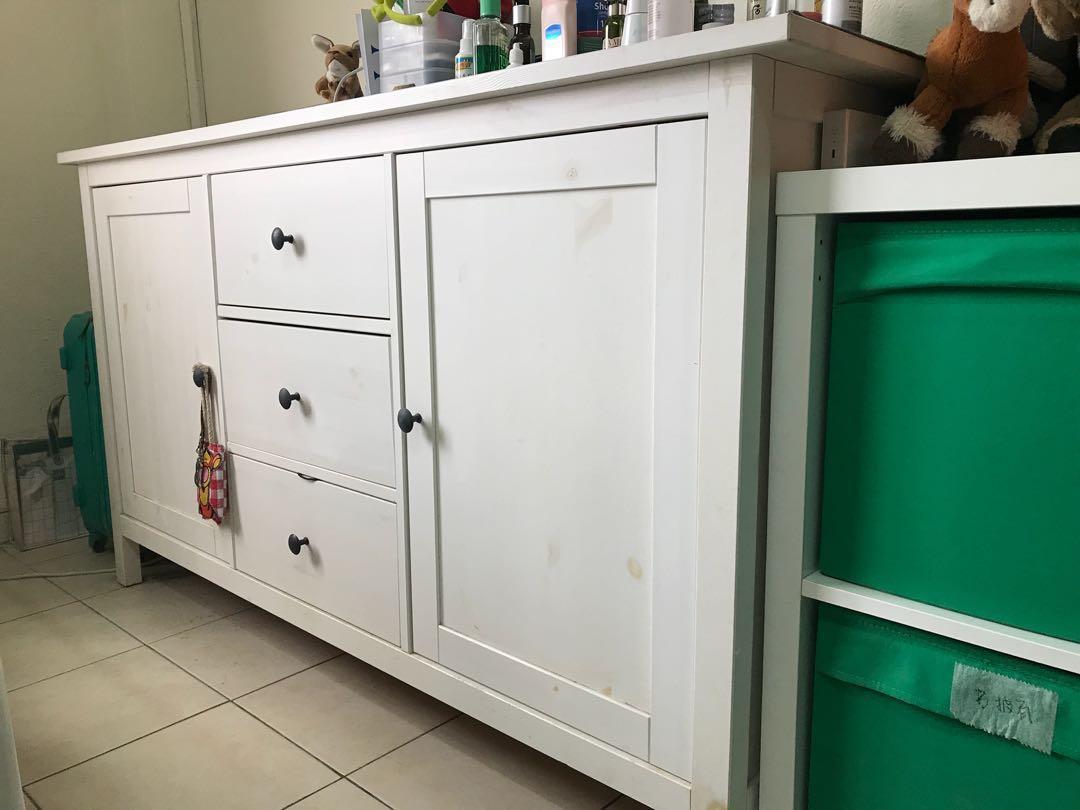 Credenza Rattan Ikea : Sideboard hemnes ikea console table frais