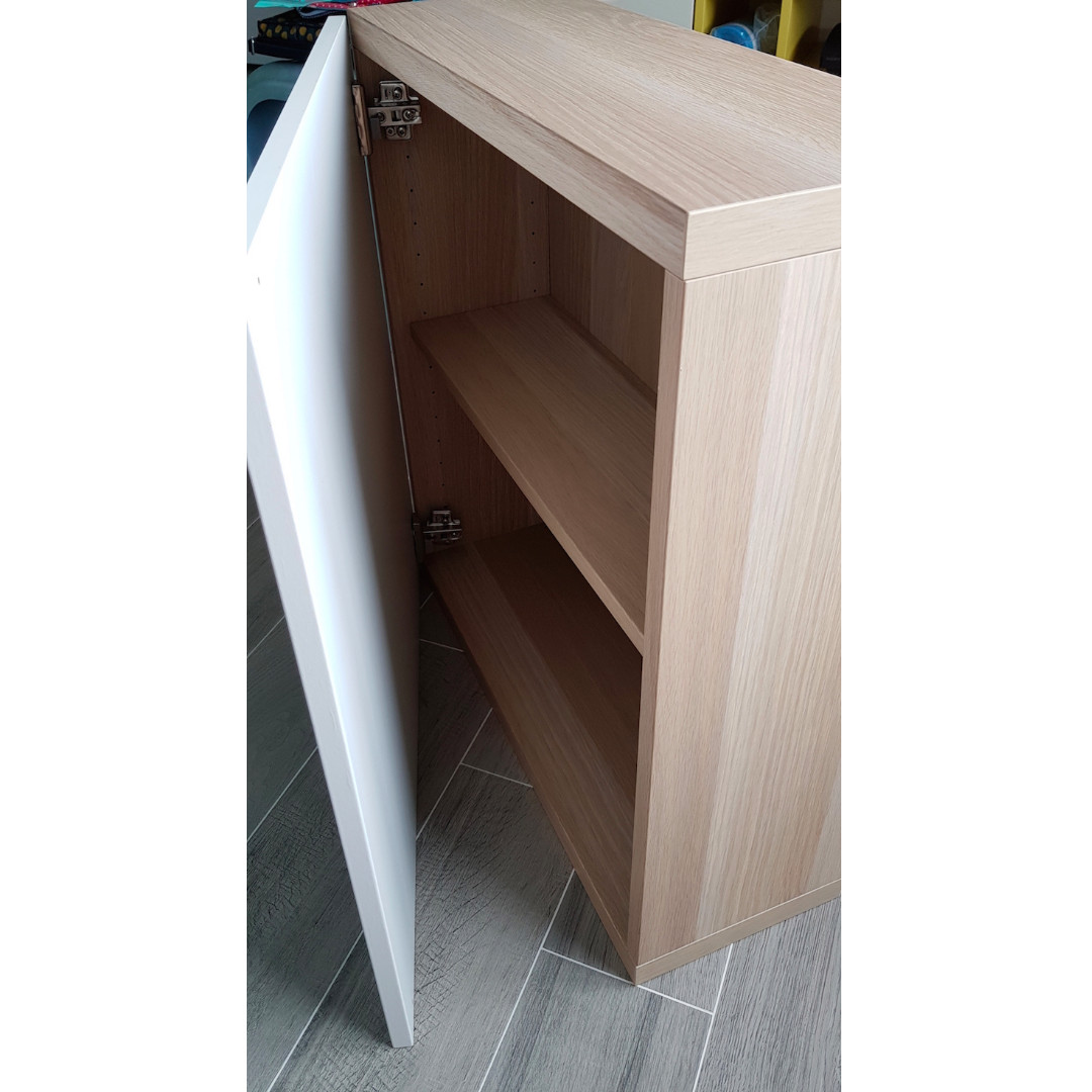 Ikea Wardrobe Leaning To One Side Cabinet Storage With Shelf