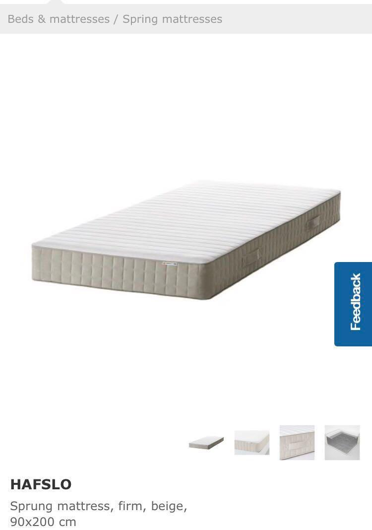 Ikea Boxspring 220 Cm Ikea Mattress Furniture Beds Mattresses On Carousell