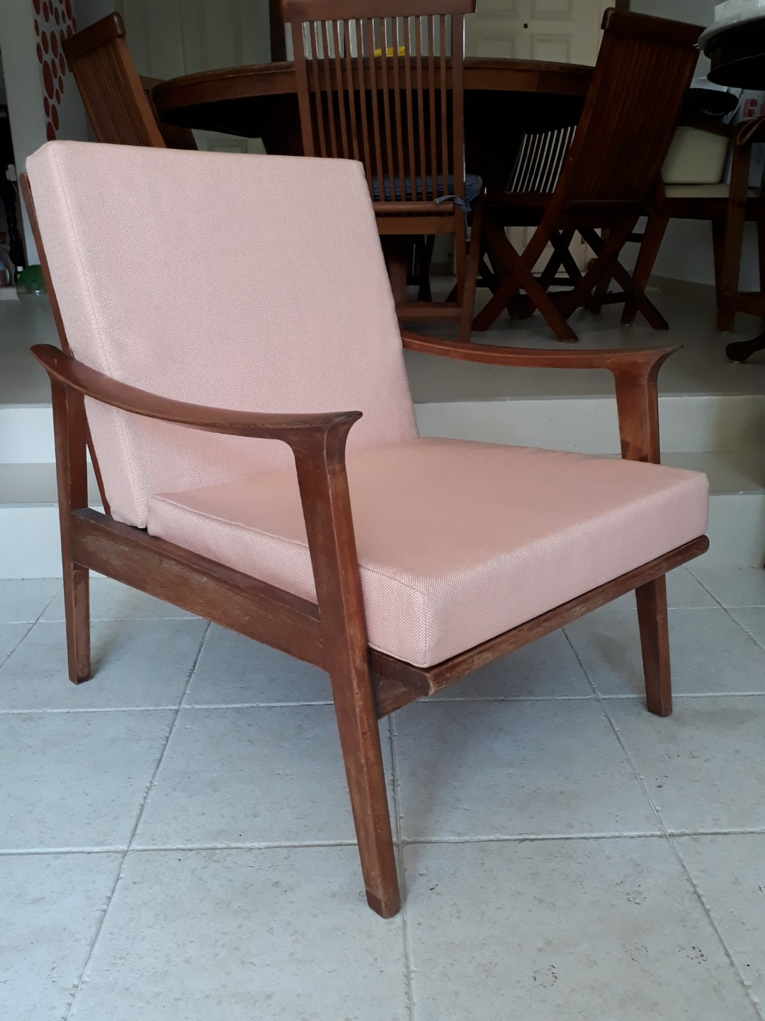 Sofa 60s 60 S Retro Teakwood Single Sofa Chair Free Delivery