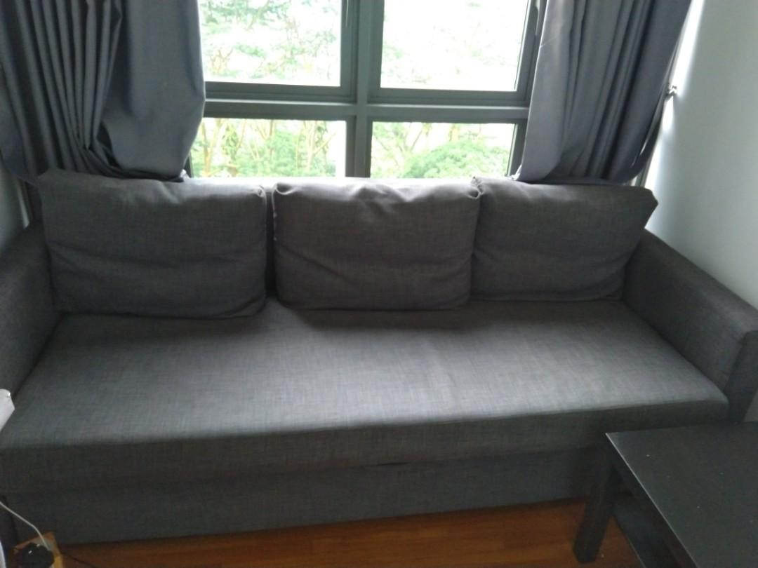 Bad Ikea Ikea Sofa Cum Bed Friheten Furniture Sofas On Carousell