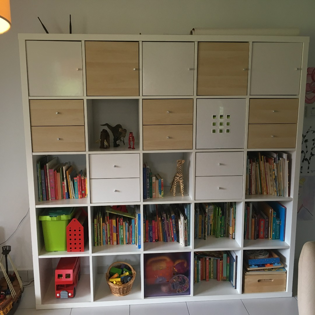 Ikea Kallax Ikea Kallax 5x5 Cube With Drawers And Doors