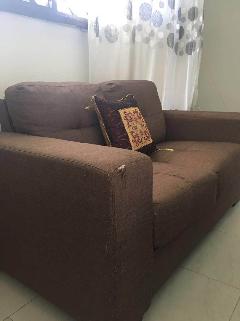 Sofa Quotes 3 Plus 2 Seater Brown In Colour Quotes What U Can Afford