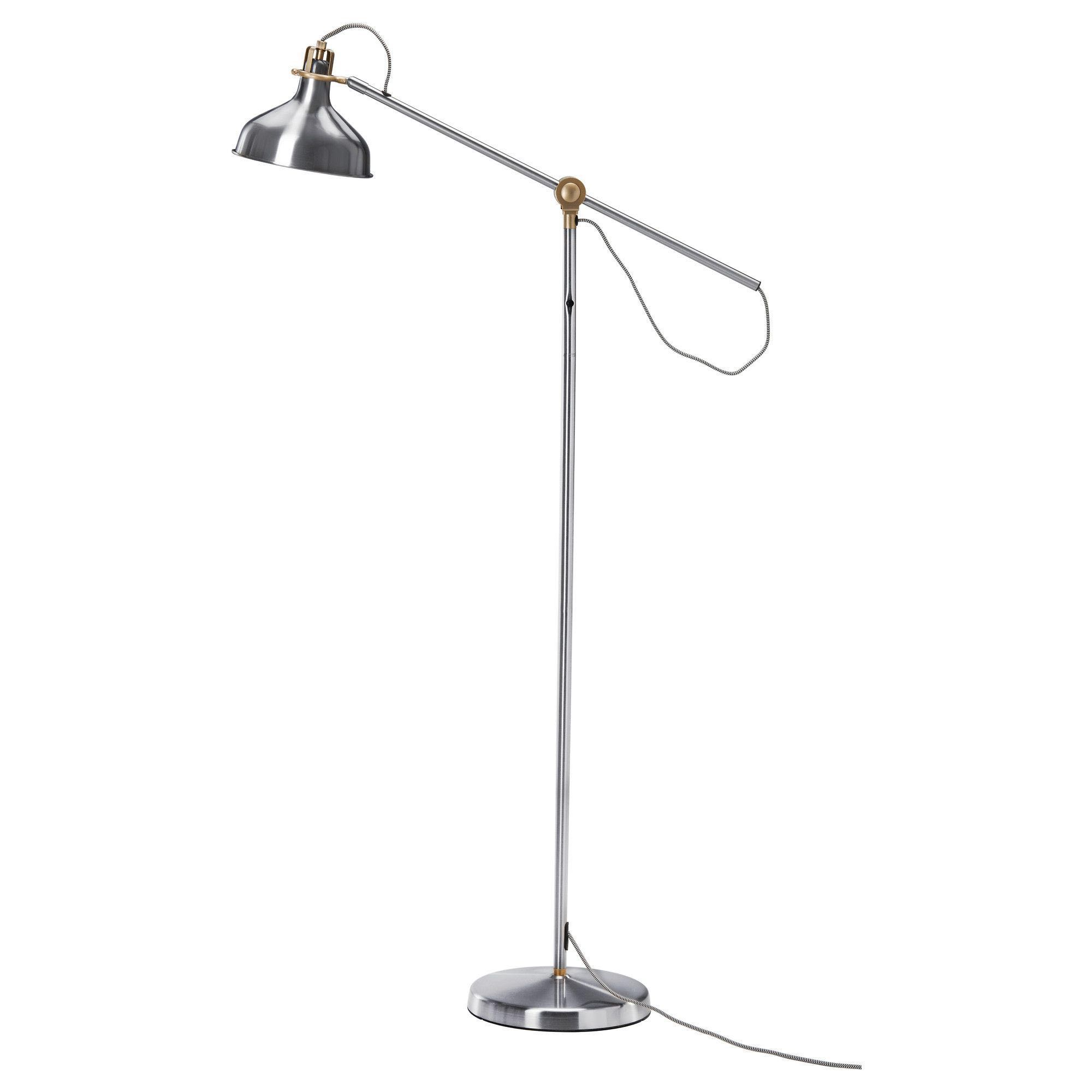 Ikea Reading Lamp Ranarp Ikea Floor Reading Lamp In Nickel