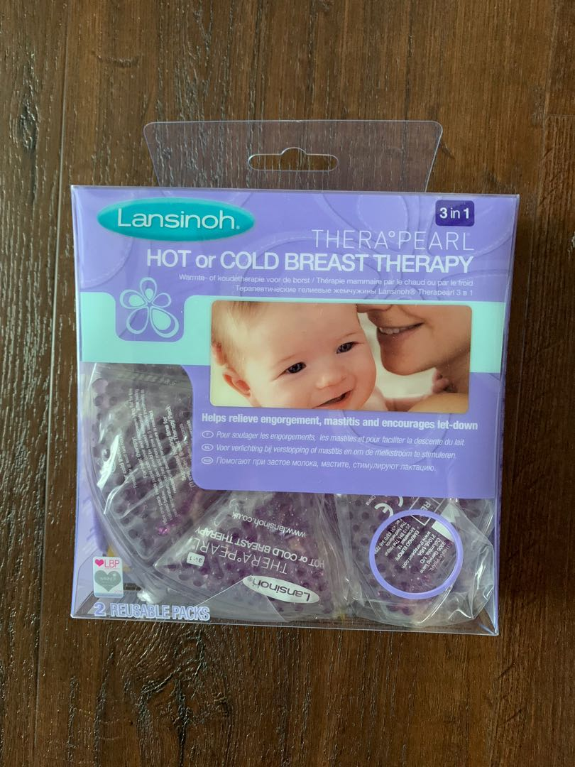 Borst Verlichting Brand New Lansinoh Therapearl 3 In 1 Breast Therapy Hot Or Cold Uk Version