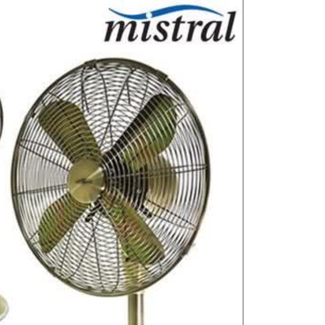 Vintage Looking Fan Vintage Style Mistral 12inch Table Fan