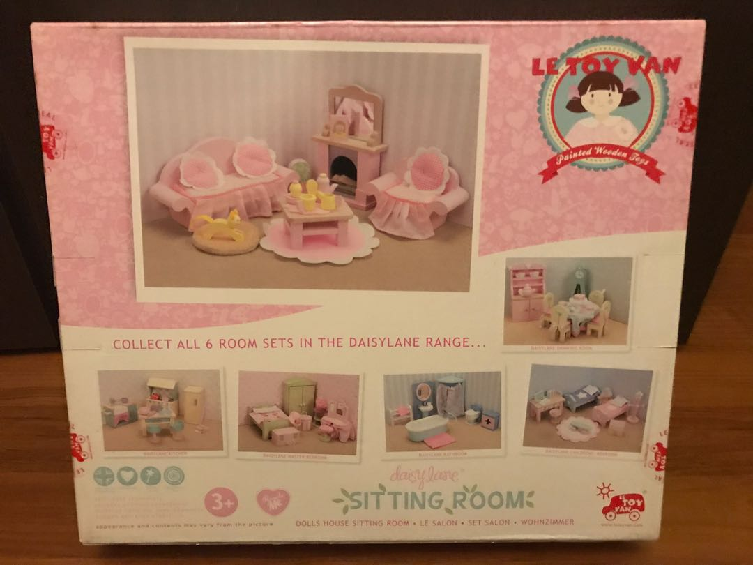 Le Toy Van Wohnzimmer Le Toy Van Sitting Room Playset For Dollhouses Babies Kids Toys
