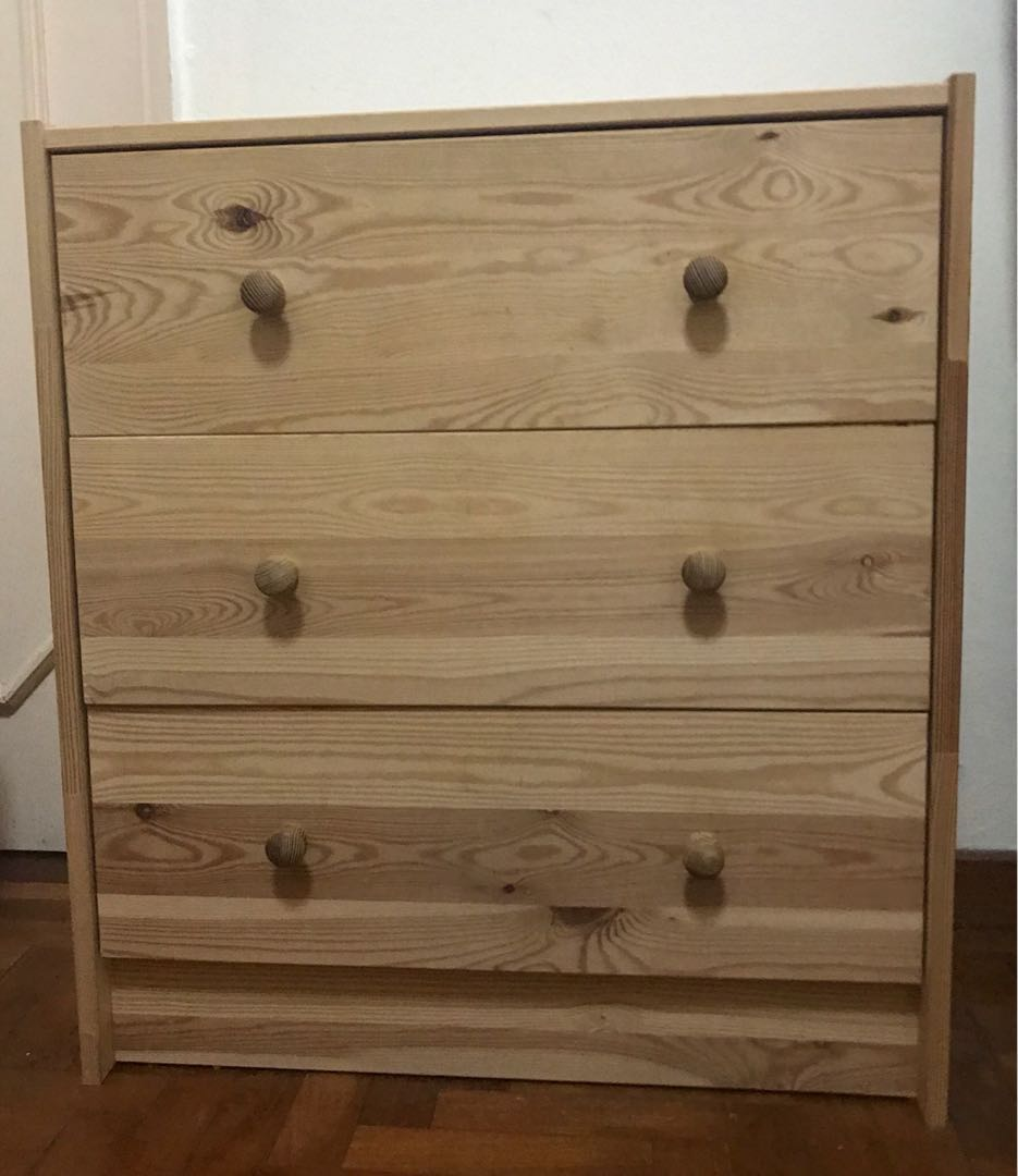 Ikea Rast Ikea Rast 3 Chest Drawer Plus Bedside Table