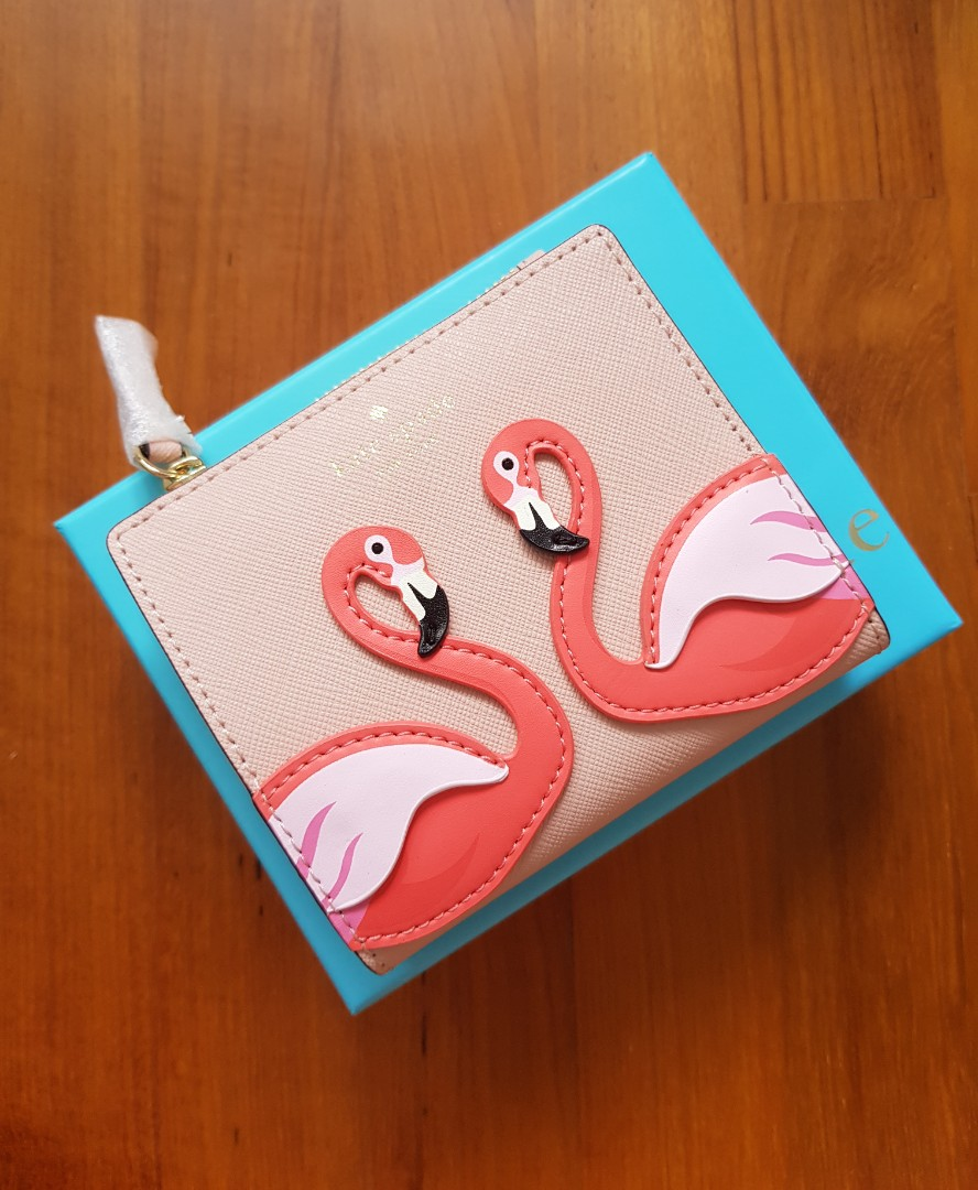 By The Pool Flamingo Kate Spade Limited Edition Kate Spade By The Pool Flamingo Adalyn Wallet