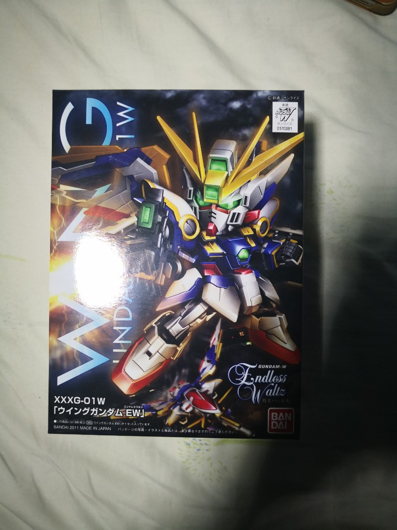 Ew Series Sd Bb Gundam Wing Xxxg 01w Endless Waltz Ew Series