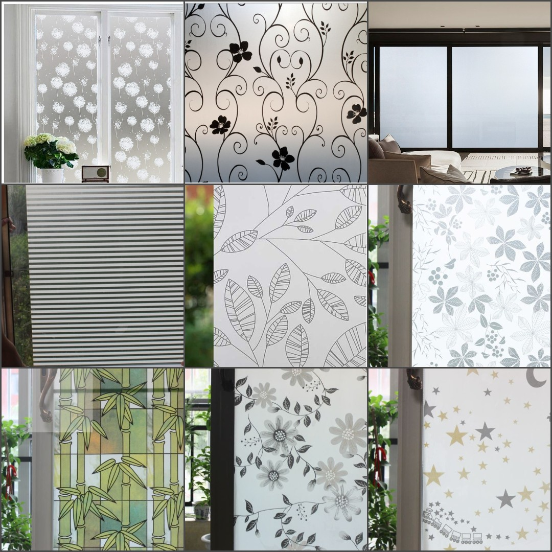 Decor Film Diy Privacy Frosted Window Kitchen Home Decor Film Instock