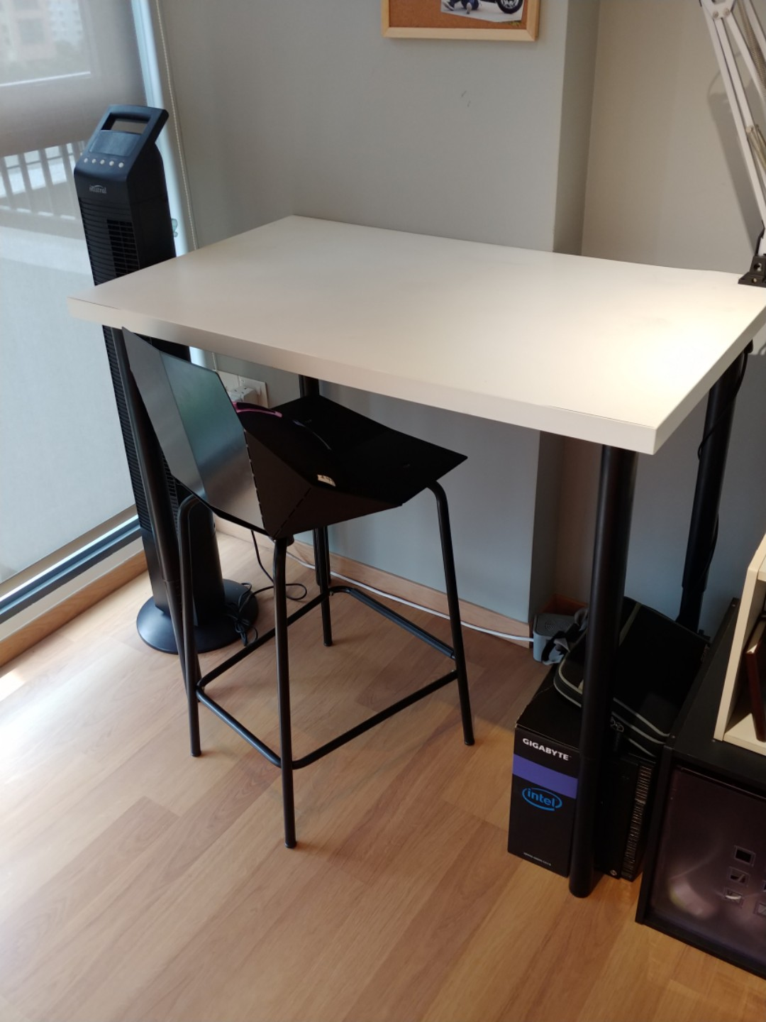 Linnmon Ikea Linnmon Table Top With Height Adjustable Legs
