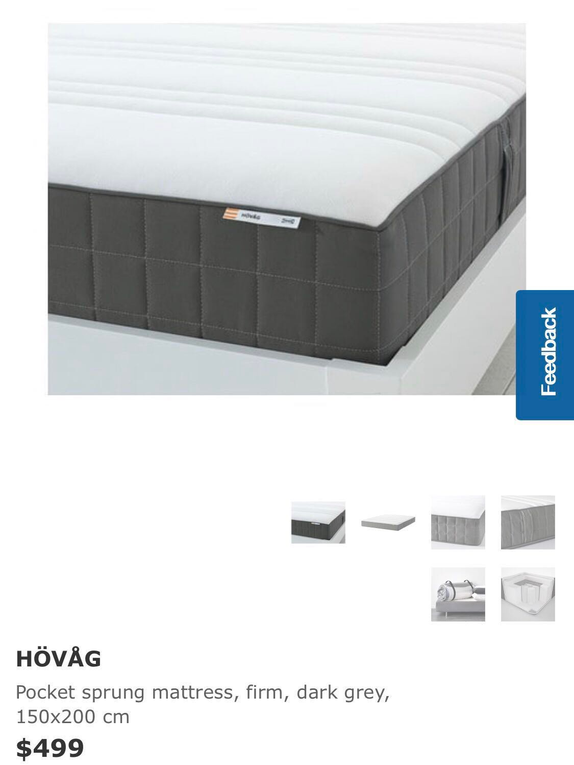 Hovag Mattress Ikea Hovag Mattress