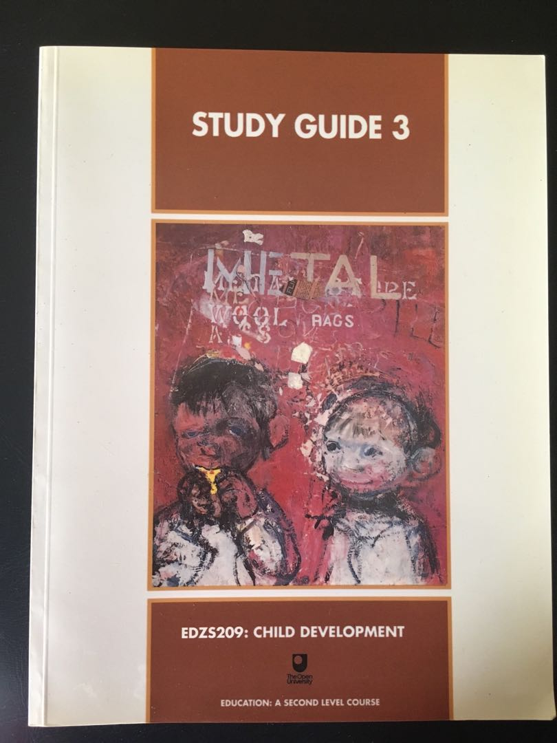 Study Guide 3 Study Guide 3 Edzs209 Child Development