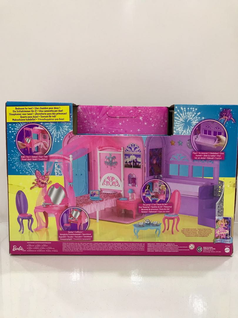 Barbie The Princess And The Popstar Royal Bed Bath Babies Kids Toys Walkers On Carousell